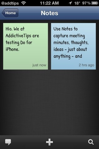 Do for iOS Notes