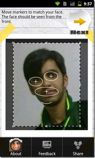 Face-Effects-Android-Markers