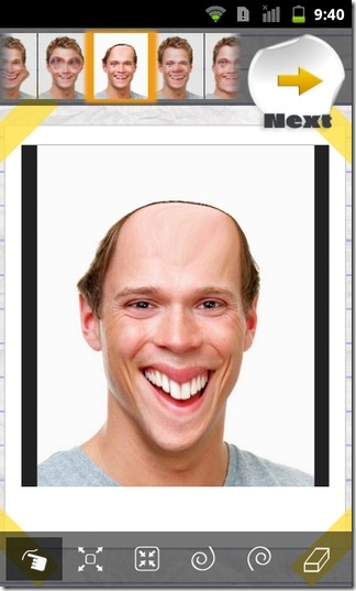 Face-Effects-Android-Sample