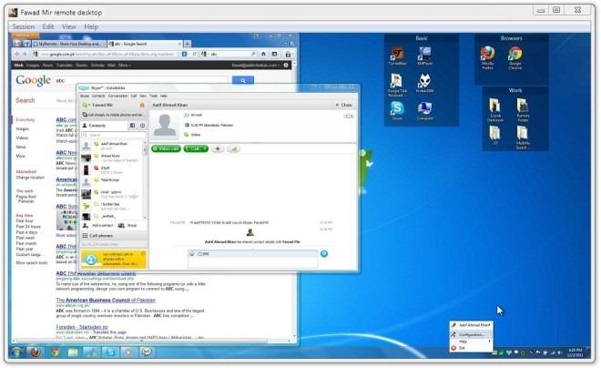 Fawad Mir remote desktop