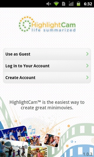 HighlightCam-Social-Android-iOS-Welcome