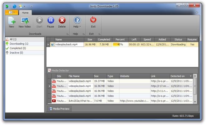 Jordy Downloader Downloading
