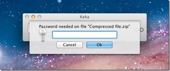 Keka enter password