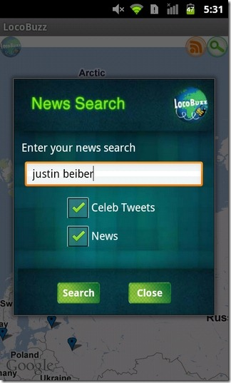 LocoBuzz-Android-Search