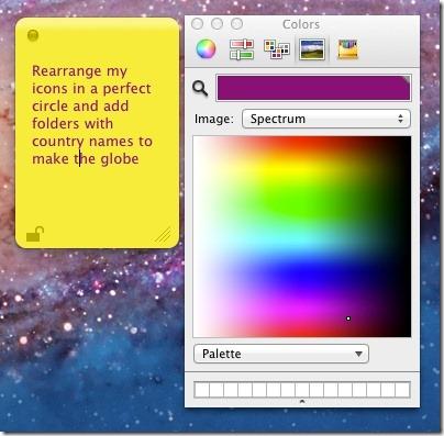 memo font color