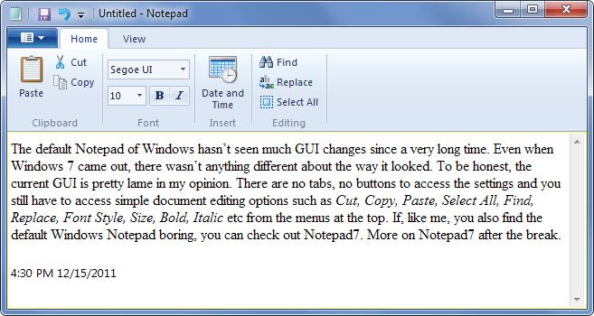 Notepad7