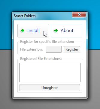 Smart Folders install 1