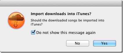 Soundcloud import to itunes