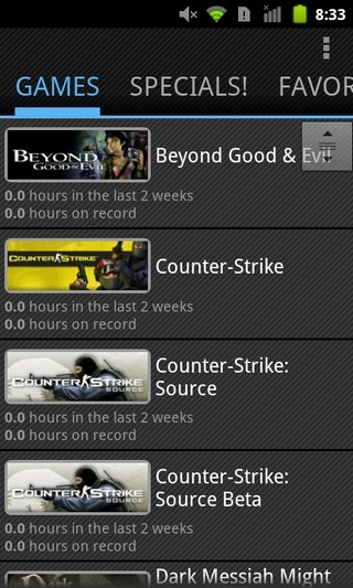 Steam-For-Android-Games