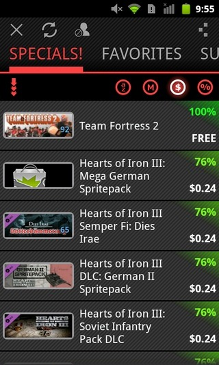 Steam-For-Android-Specials