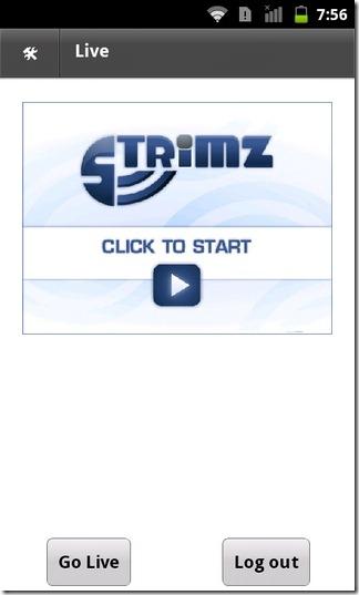 Strimz-Android-iOS-Home