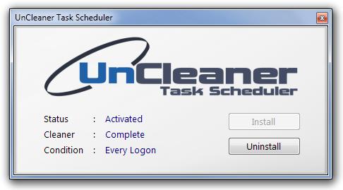 UnCleaner Task Scheduler