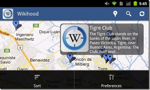Wikihood-Android-Map