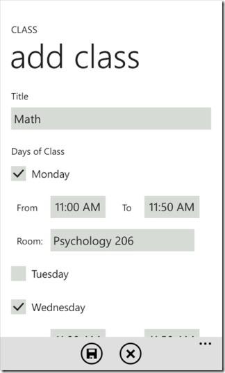 add class power planner