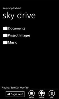 easyRing&Music SkyDrive