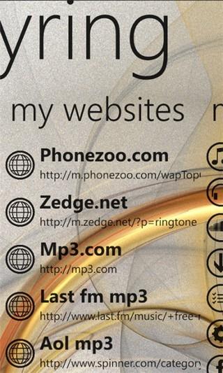 easyRing&Music Websites