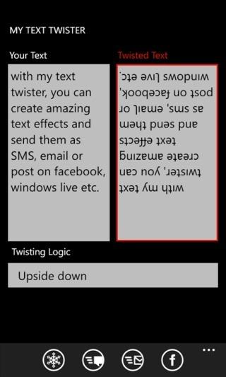 twist text
