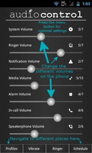 Audio-Control-Android-H