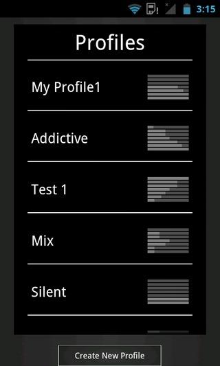 Audio-Control-Android-Profiles