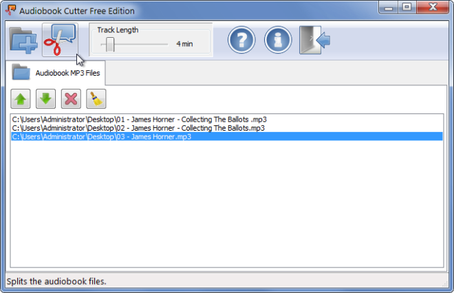 Audiobook Cutter Free Edition