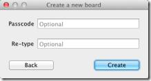 BaiBoard create