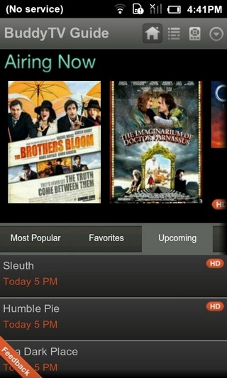 BuddyTV-Android-Home