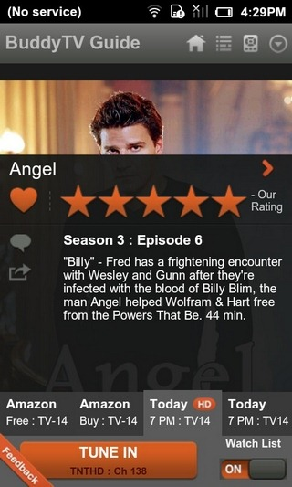 BuddyTV-Android-Show