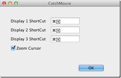 CatchMouse Preferences