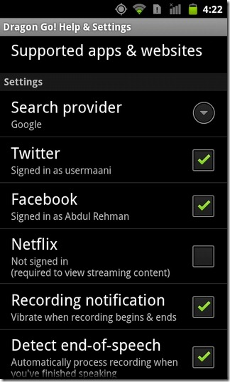 Dragon-Go-Android-Settings