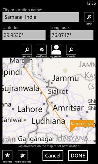 GPS Calculator Map Distance