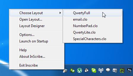InScribe Right Click