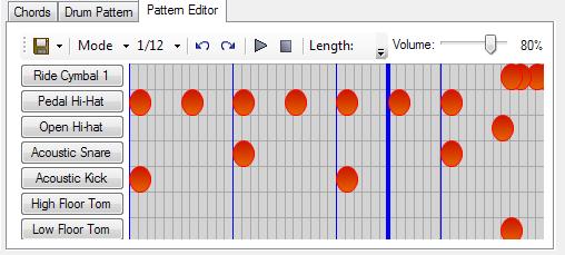 Little Piano Pattern Editor