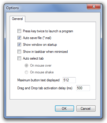 MadApp Launcher Options