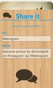 Metrogram Photo Share