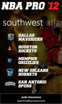 NBA Pro '12 Teams