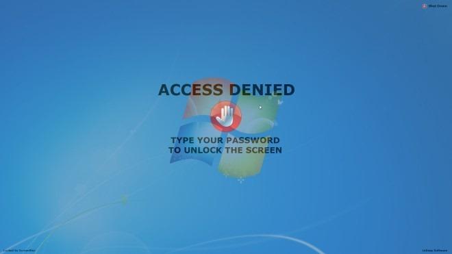 ScreenBlur Locked