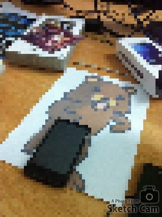 Sketch Cam Pixelated
