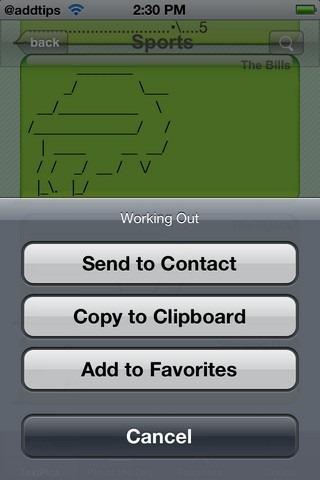 TextPics Options