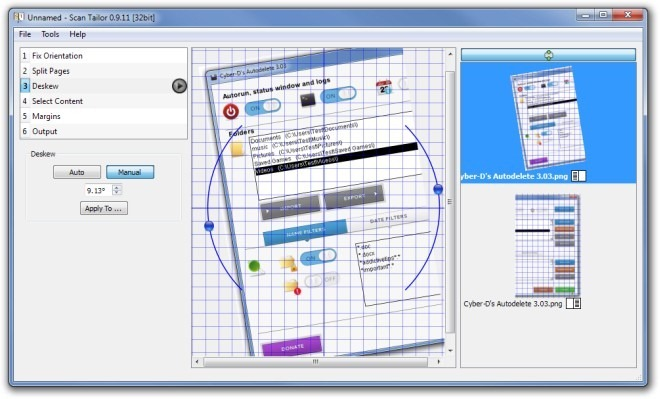 Unnamed - Scan Tailor 0.9.11 [32bit] Deskew