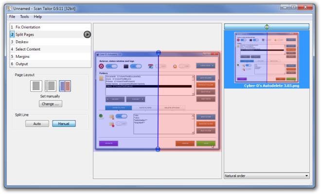 Unnamed - Scan Tailor 0.9.11 [32bit] Split File
