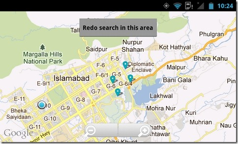 Wikipedia-Android-Map