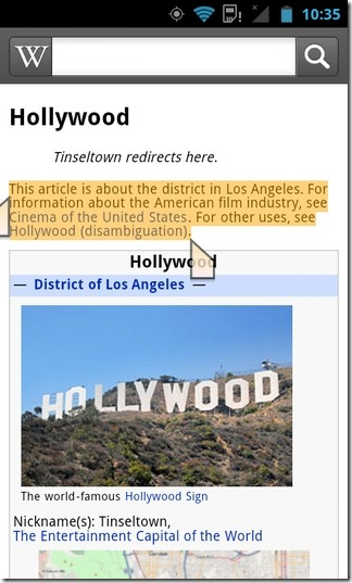 Wikipedia-Android-Text-Select