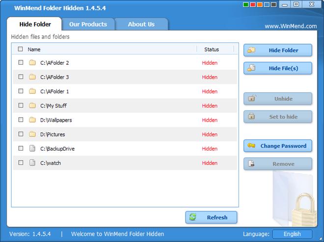 WinMend Folder Hidden 1.4.5.4