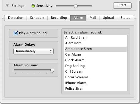 iSentry alarm