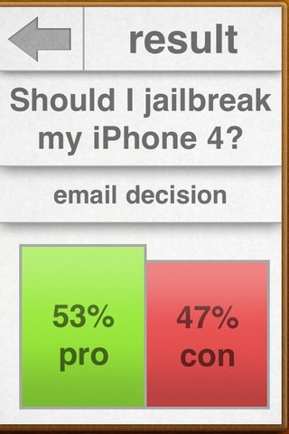 inDecision Results