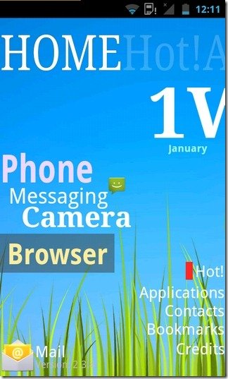 ssLauncher-Android-Home