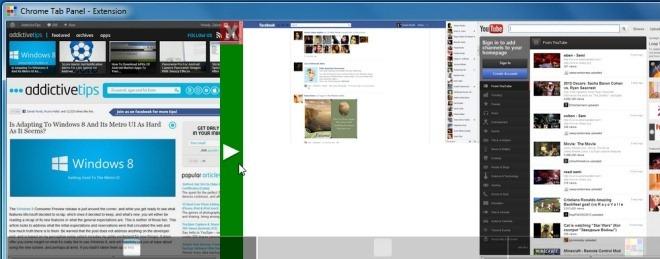 Chrome Tab Panel