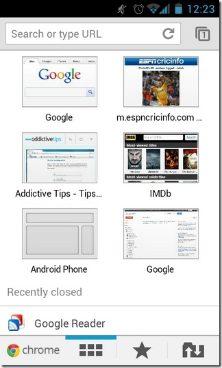 Chrome-for-Android-Beta-Home