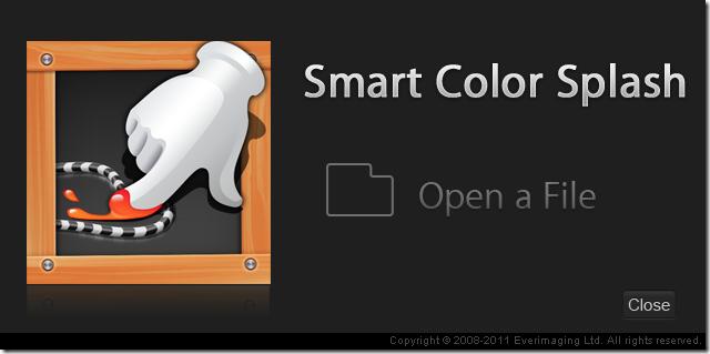 Color Splash Smart add file