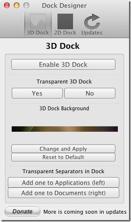 Dock Designer
